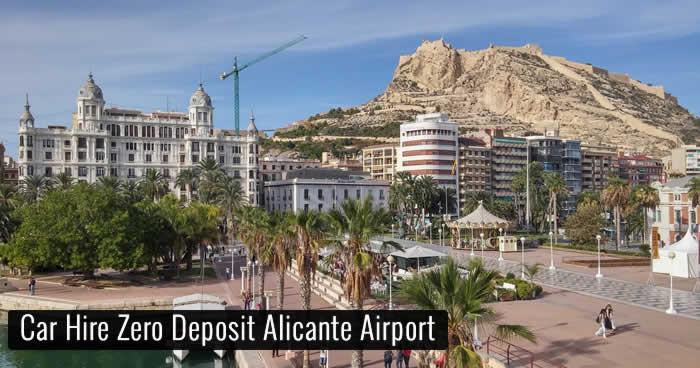 Car Hire Zero Deposit Alicante Airport