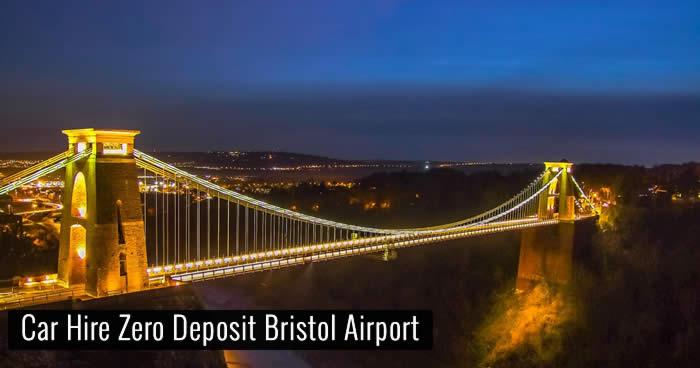 Car Hire Zero Deposit Bristol Airport