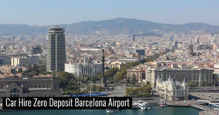 Car Hire Zero Deposit Barcelona Airport