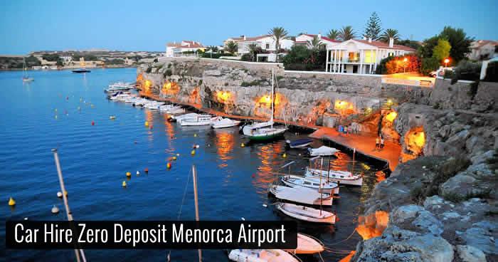 Car Hire Zero Deposit Menorca Airport